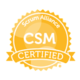 Marketingbureau Amsterdam, Scrum gecertificeerd logo